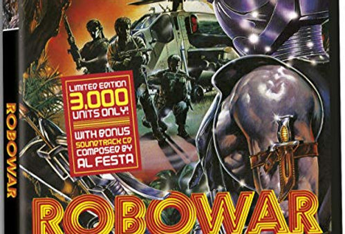 Robowar – Limited Edition (Only 3,000 Units With a Bonus CD Soundtrack)