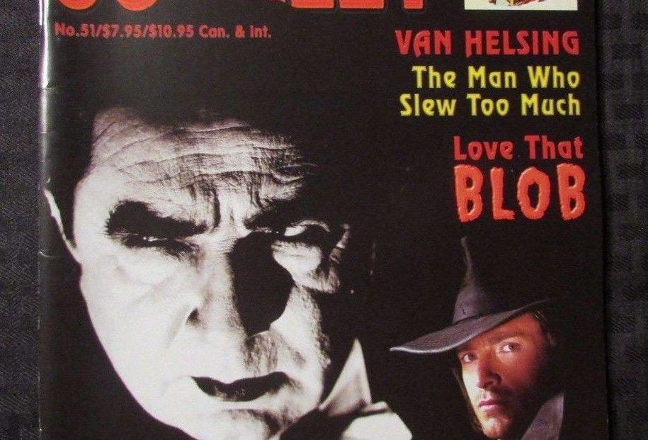 SCARLET STREET Magazine #51 VF+ Bela Lugosi Van Helsing