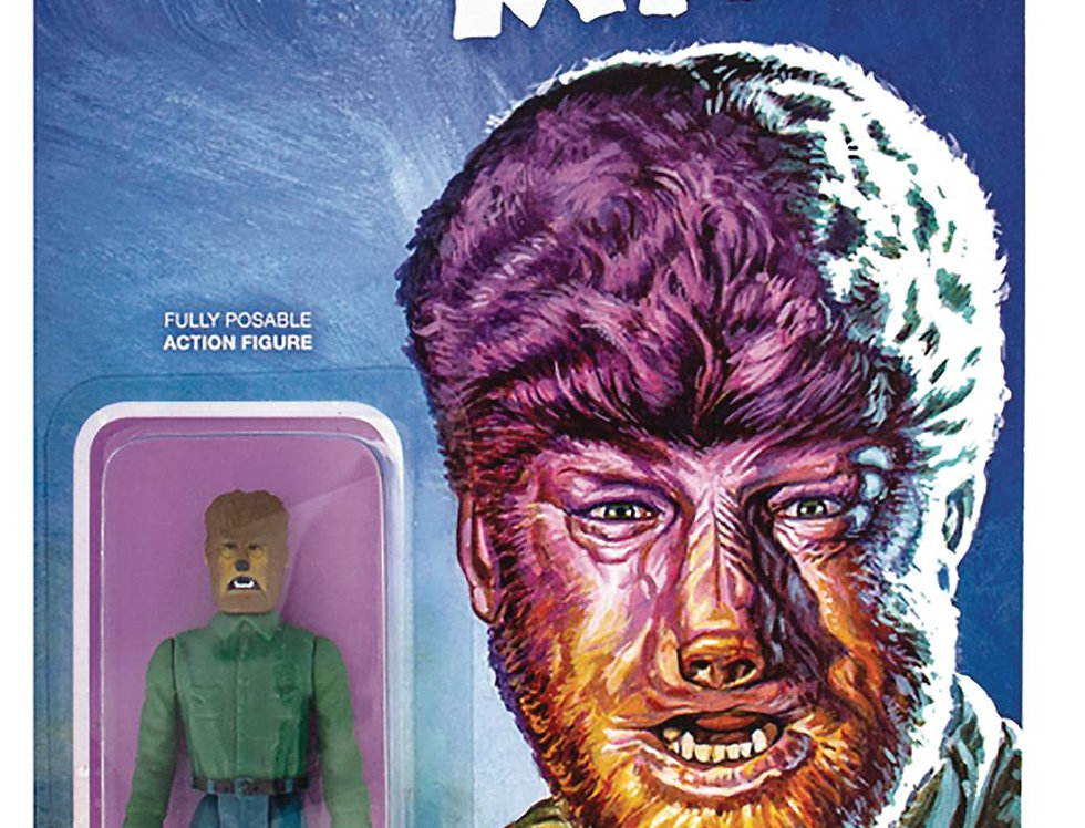 UNIVERSAL MONSTERS WOLFMAN REACTION FIGURE