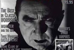 MONSTERS From The Vault Magazine #10 NM- DRACULA