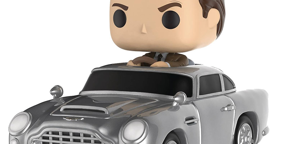POP RIDES JAMES BOND W/ASTON MARTIN VIN FIG