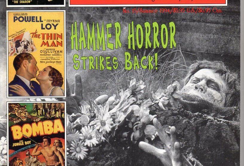 Scarlet Street #15! Hammer Horror! The Shadow! Johnny Sheffield! Acquanetta