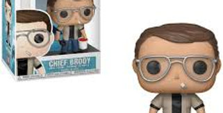 POP MOVIES JAWS CHIEF BRODY VINYL FIGURE