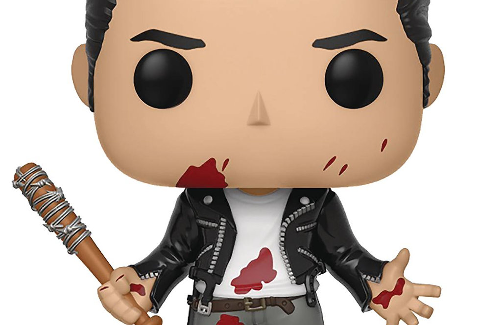 POP WALKING DEAD NEGAN CLEAN SHAVEN VINYL FIGURE