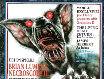 Fear Magazine Issue No 8 August 1989 UK Horror Mag