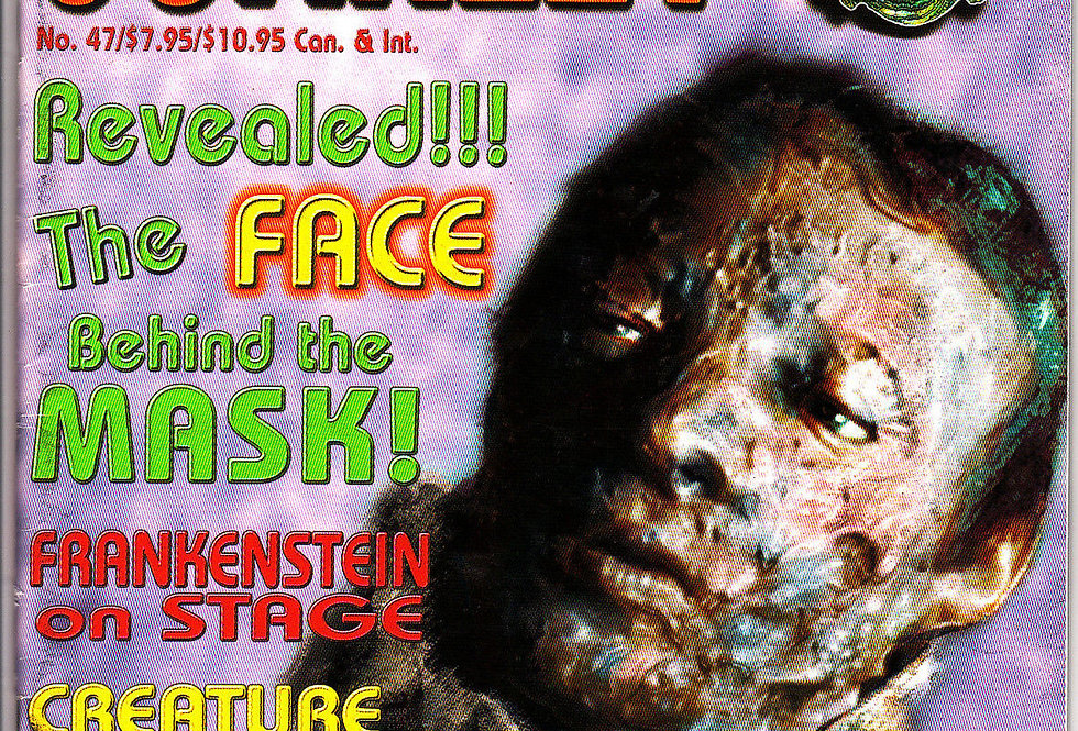 Scarlet Street Magazine #47 Horror Frankenstein Creature From The Black Lagoon