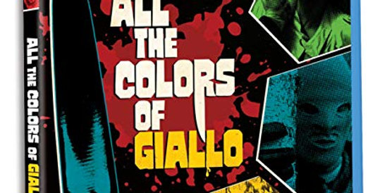 All the Colors of Giallo (Severin) (CD / DVD / Blu-Ray All Region)