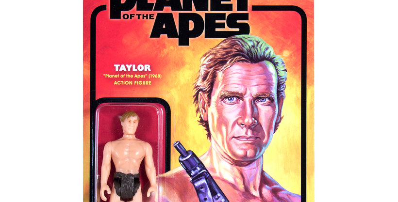 Super 7 Planet of The Apes: Taylor Reaction Figure