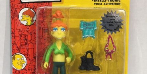 Simpsons Brandine series 15 intellitronic WoS Playmates action figure