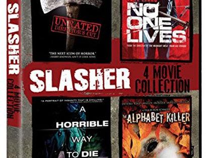 Slasher 4-Pack (Hatchet/No One Lives/A Horrible Way to Die/Alphabet Killer)