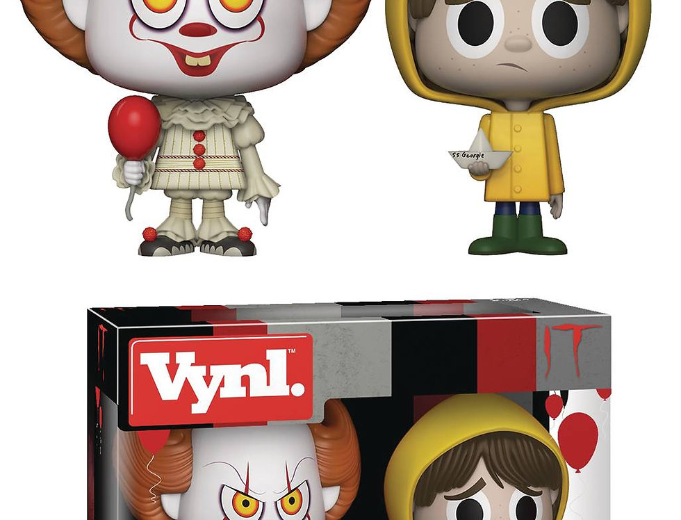 VYNL IT PENNYWISE & GEORGIE VINYL FIGURE 2PK