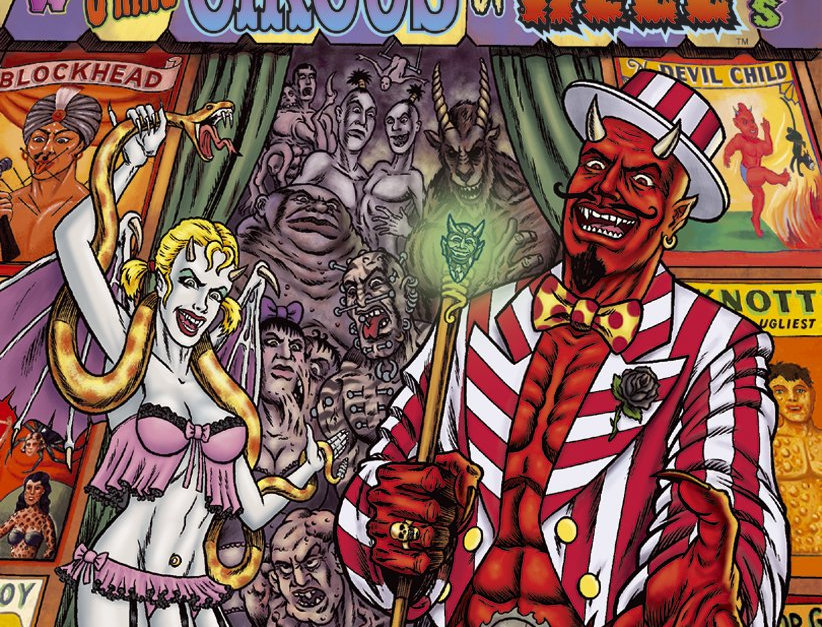 Satan's 3-Ring Circus of Hell Paperback