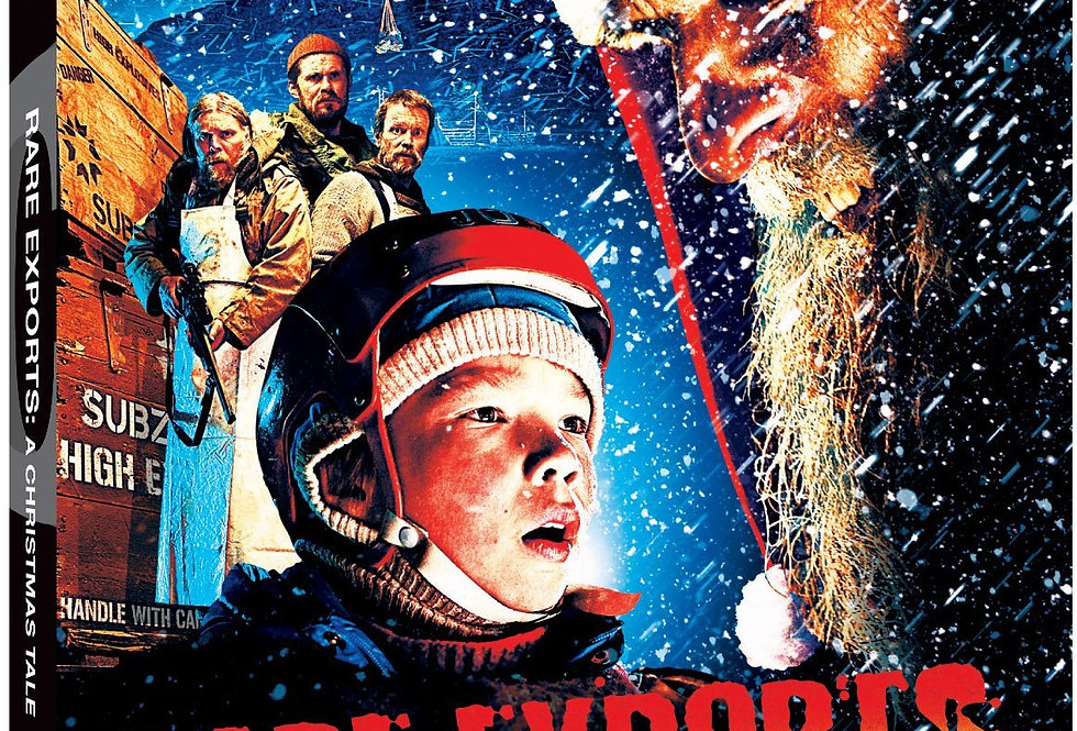 RARE EXPORTS: A CHRISTMAS TALE [Blu-ray]