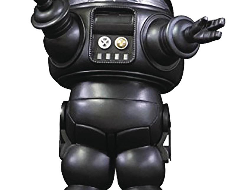 FORBIDDEN PLANET ROBBY ROBOT BLACK DIE CAST PX FIG