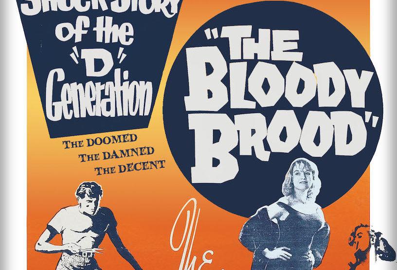 The Bloody Brood (Kino) (Dvd)