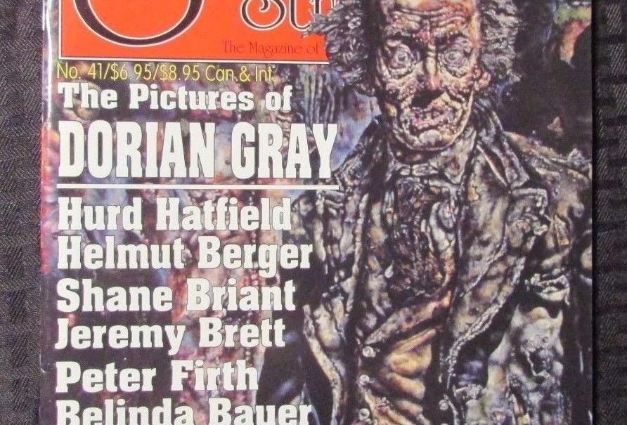 SCARLET STREET Horror Movie Magazine #41 Dorian Gray