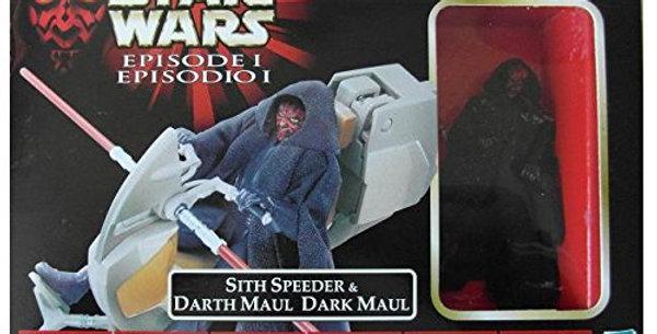 Star War Episode 1 Sith Speeder & Darth Maul