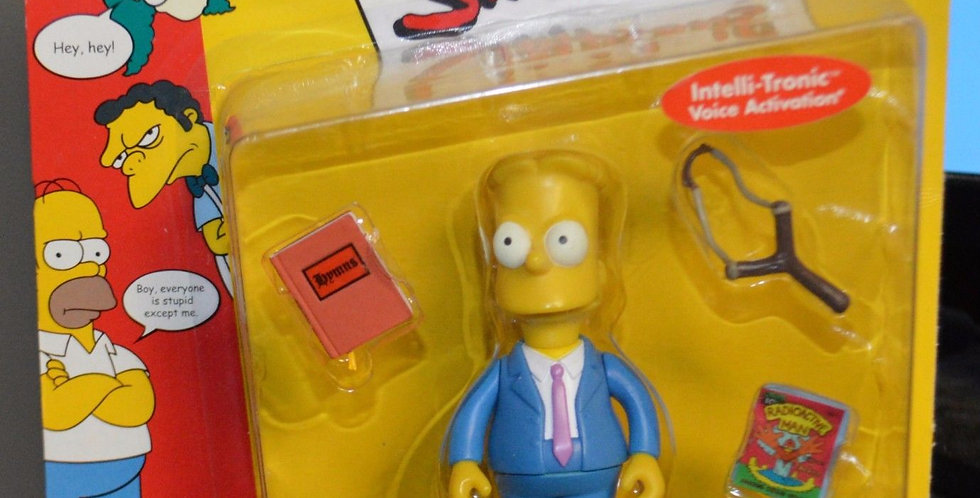 Simpsons playmates Sunday Best Bart figure series 2