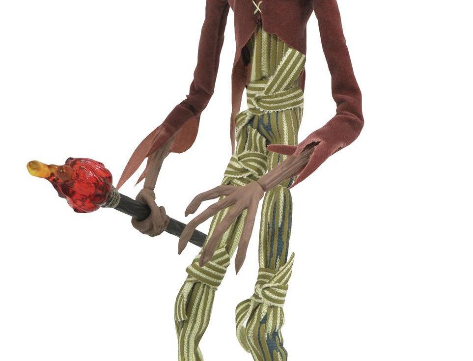 Nightmare Before Christmas:Silver Ann. Pumpkin King Figure