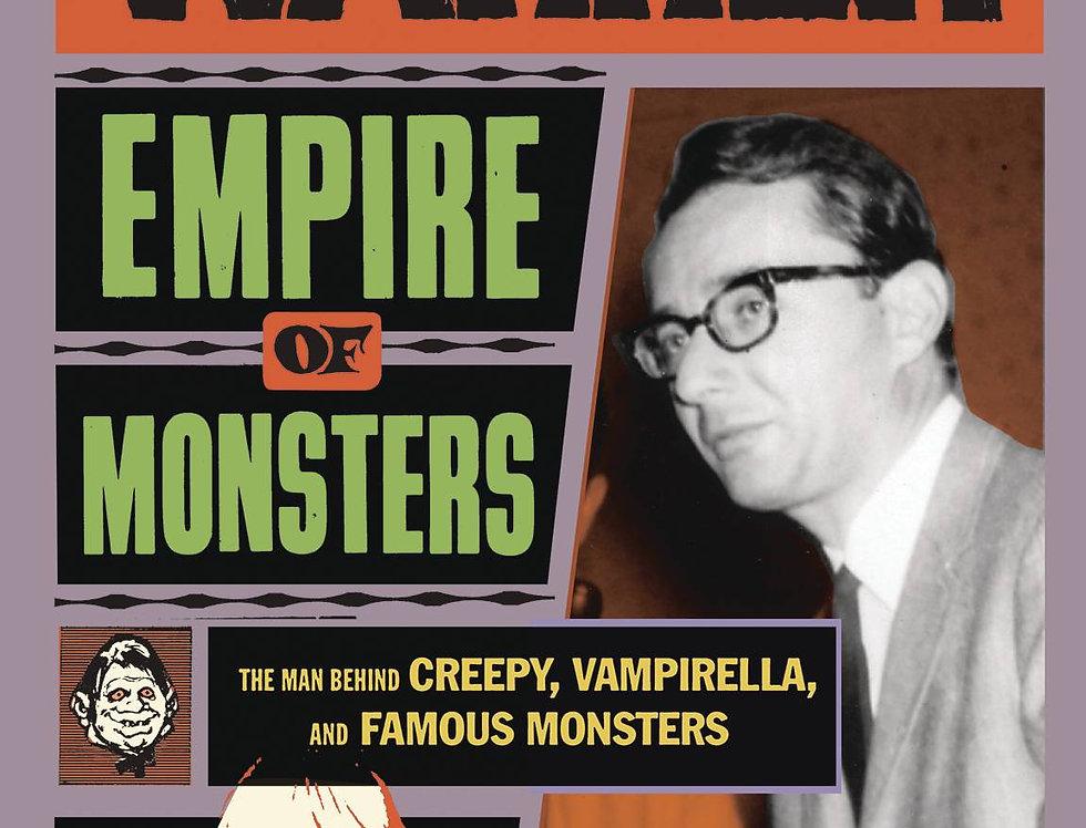 JAMES WARREN HC EMPIRE OF MONSTERS CREEPY VAMPIRELLA