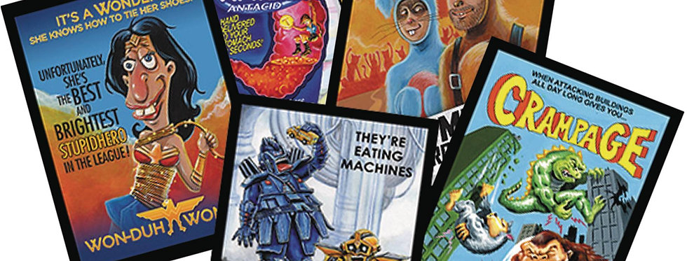 TOPPS 2018 WACKY PACKAGES MOVIES T/C BOX