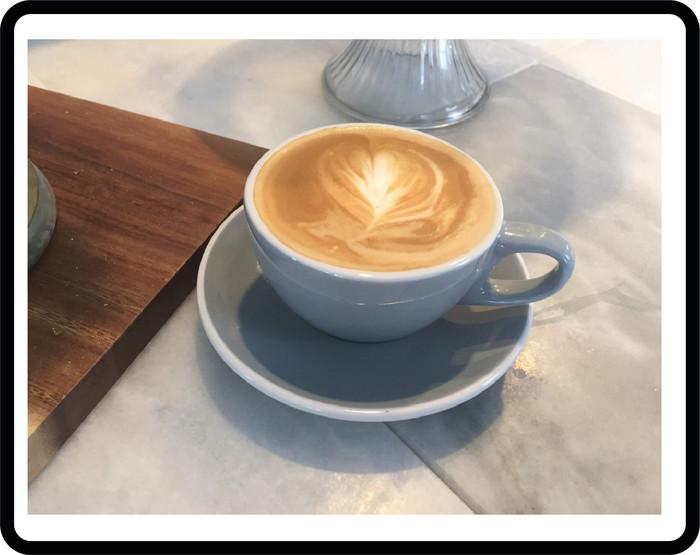 Latte art - practice makes perfect