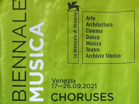 【2021年9月18日】オペラ『Only the Sound Remains-余韻-』ヴェネチアビエンナーレ公演