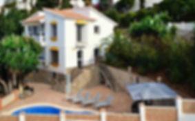 Casa Andalucia, vakantievilla met 4 appartementen