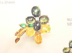 Juwelenbrosche