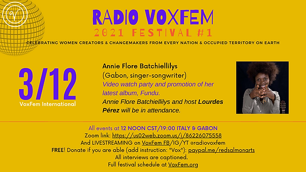 Annie Flore Batchiellilys Mar 12 poster