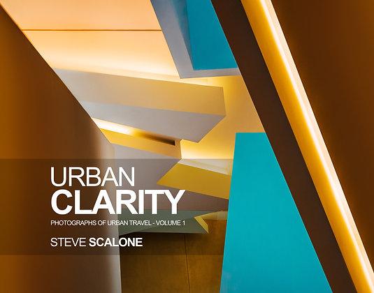 Urban Clarity 11x14 inch Book