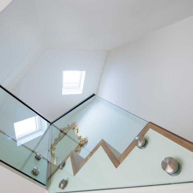 Glass Staircase Design Battersea