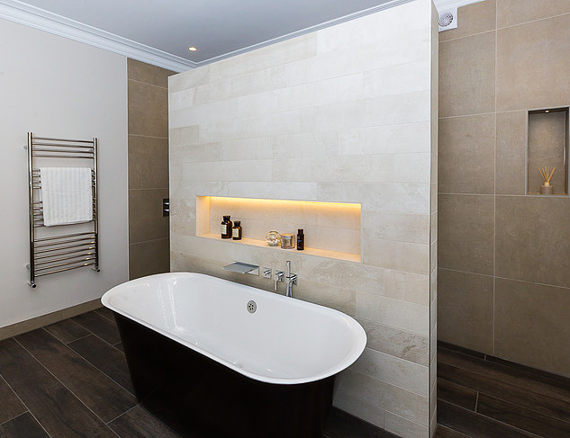 Luxury bath and bathroom design Ealing