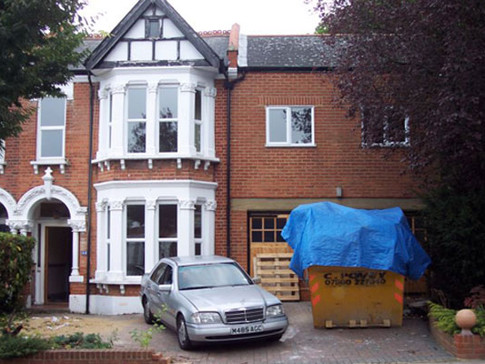 New build Victorian house Ealing