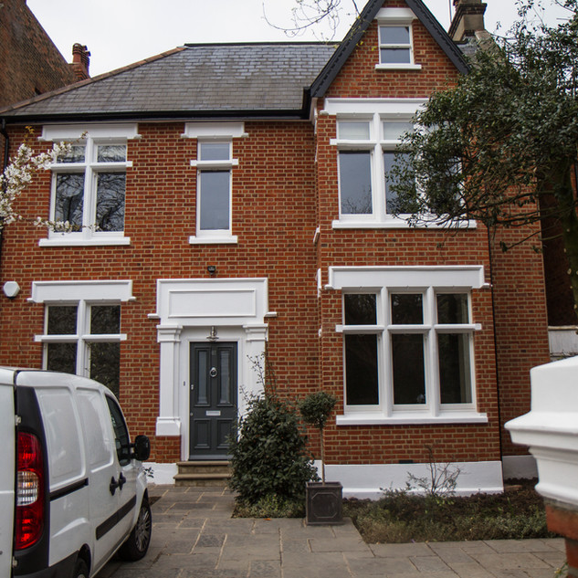House Exterior Renovation and Repair Ealing