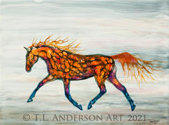 Embers Horse