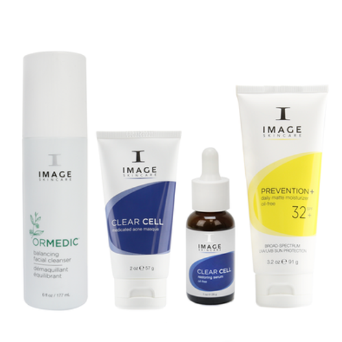 Image In The Clear Home Facial Kit