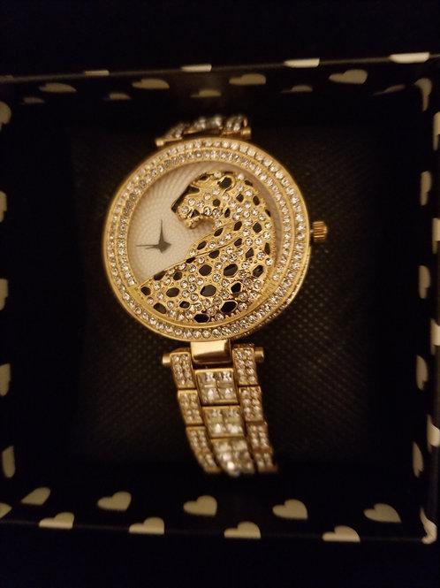 New. Luxury Rhinestone Quartz Watch (Gift Boxed)