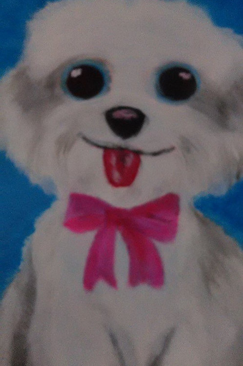 New. Painting-Artwork by jSharon Williams - My Shih Tzu