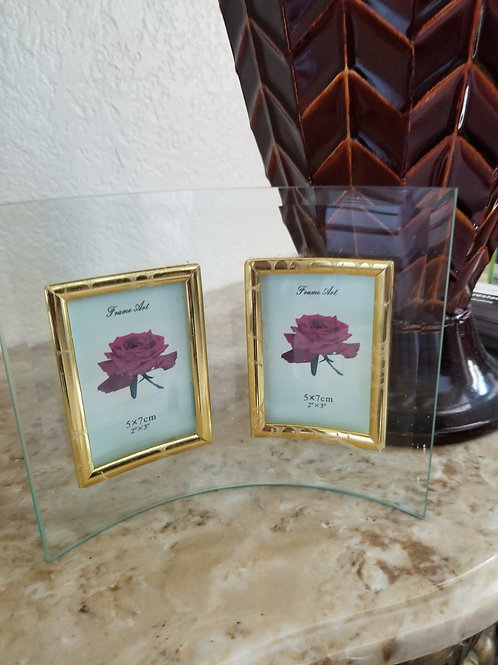 New - Curve Glass Picture Frame