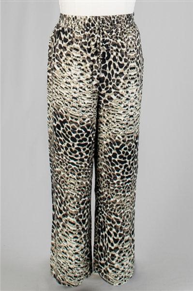New. Snake PatternPrint Plus Size Pant