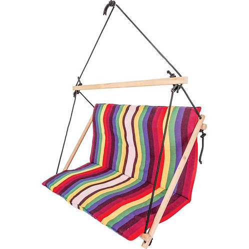 New. Double Hanging Rope Chair Swing