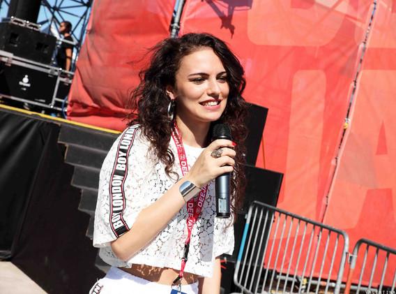 Silvia deejay on stage .jpg