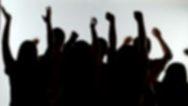 silhouette-of-happycelebrating-group-cro