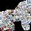 kit mosaique licorne cheval ecologique vaisselle