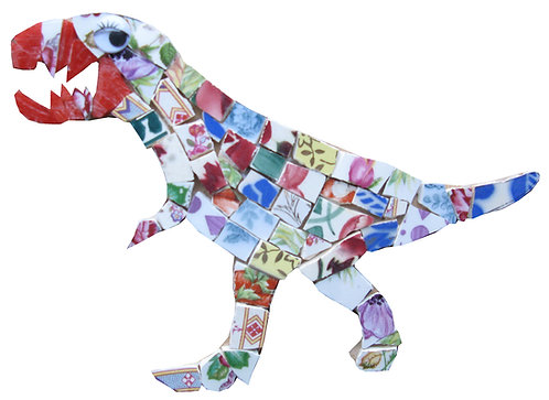 KIT MOSAIQUE DINOSAURE TIREX