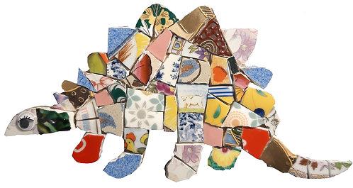 Kit Mosaique Dinosaure écologique