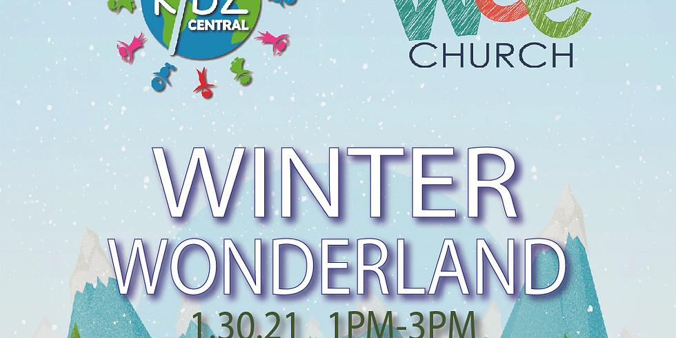 """Wee Church & Kids Central """"Winter Wonderland"""""""