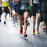 Los corredores de carreras