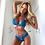 Thumbnail: Sexy Lingerie Lace Bra Set Plus Size S-3xl